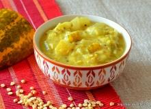 Dosakaya Pappu aka Yellow Cucumber Dal